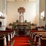 Kostol - interiér