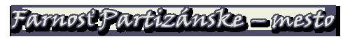Farnosť Partizánske - mesto